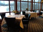 Dining-area-with-Golf-course-view-in-Winter